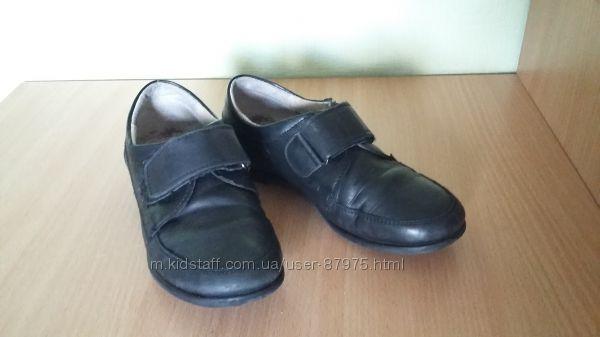 Кожаные туфли  Tiranitos на мальчика, 33 р. , подойдут в школу