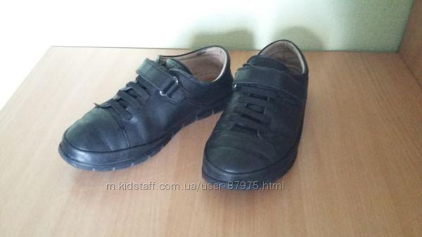 Продам кожаные туфли-мокасины Tiflani на мальчика, 35 размер