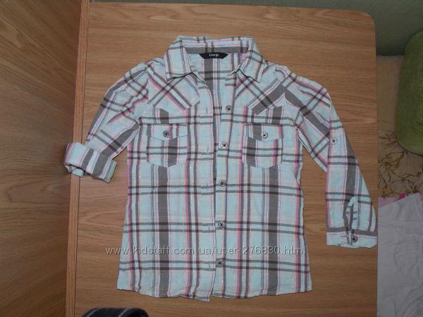 Рубашка George хб с люрексом на рост 110-116 cм